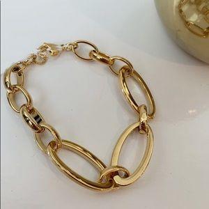 Ellie Vail Charlotte Oval Chain Link Bracelet